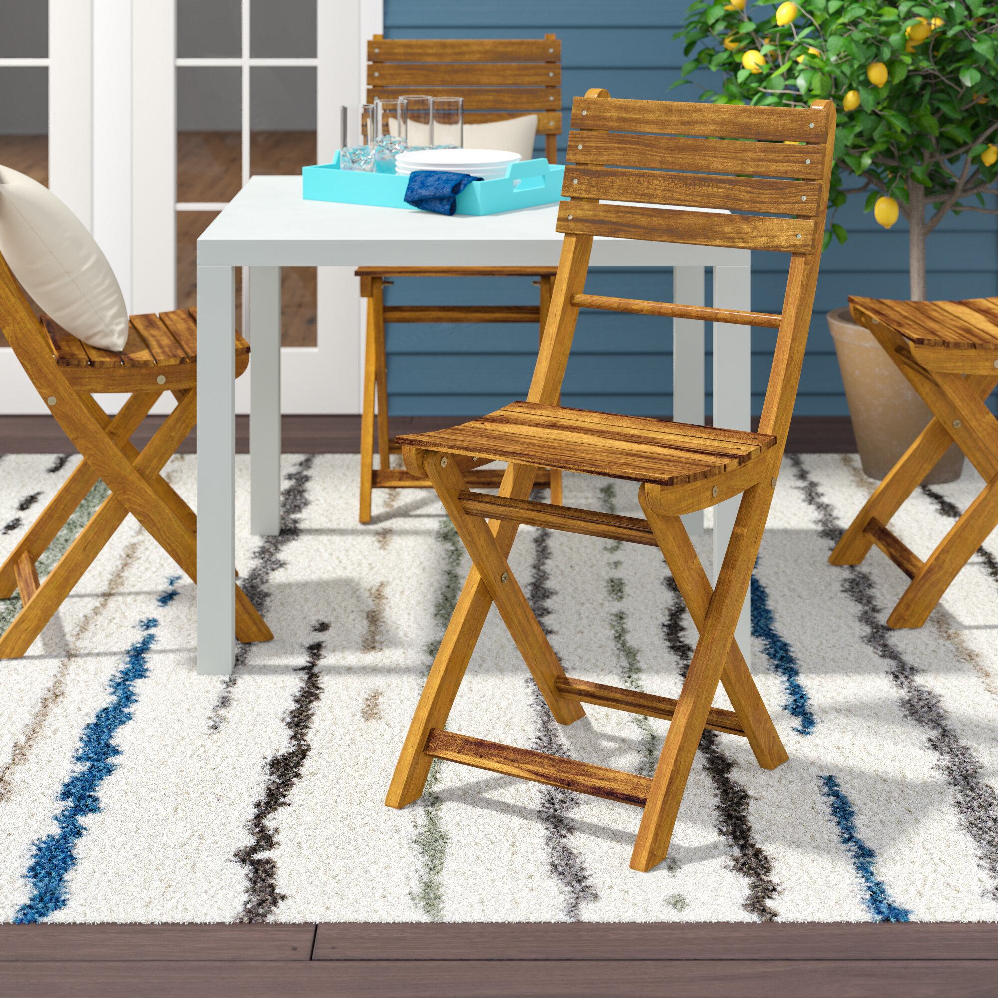 Carthage Folding Patio Dining Chair