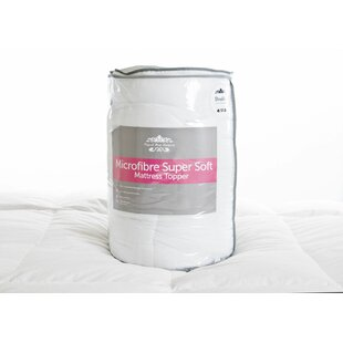 Lancashire Microfibre Mattress Topper By Wayfair Sleep