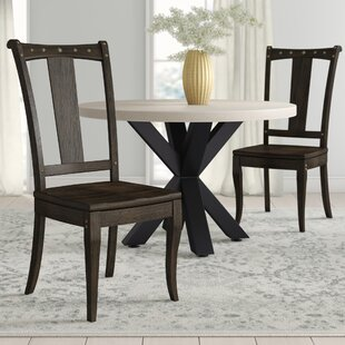 Milton Solid Wood Dining Chair (Set of 2)
