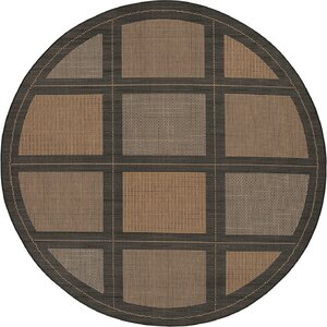 Westlund Cocoa Indoor/Outdoor Area Rug
