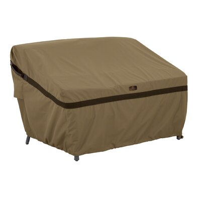 Classic Accessories Hickory Heavy-Duty Sofa Loveseat Cover Size: Large