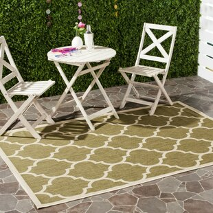 Herefordshire Green/Beige Indoor/Outdoor Area Rug