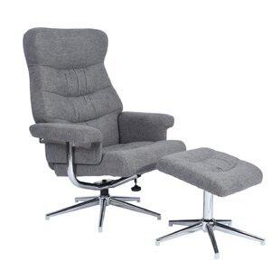 Colgan Manual Glider Swivel Recliner with Ottoman
