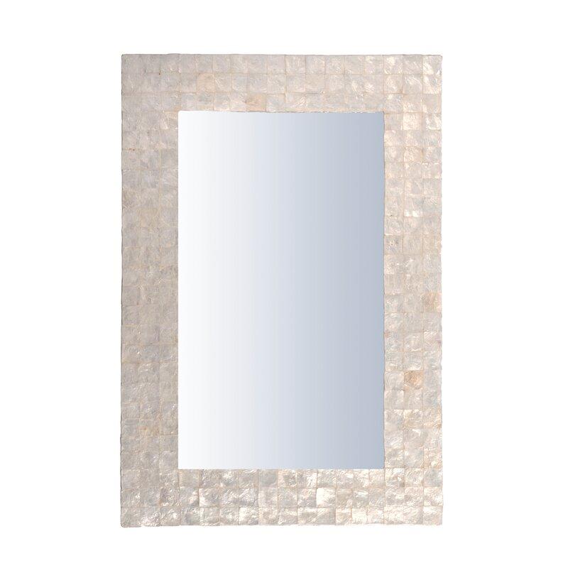 Capiz Accent Mirror