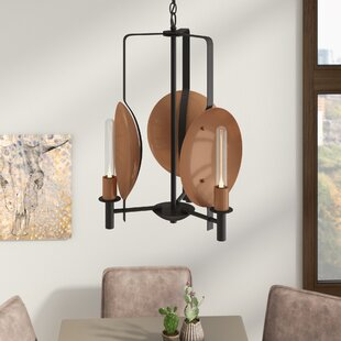 Trent Austin Design Kagamil 3-Light Candle Style Chandelier