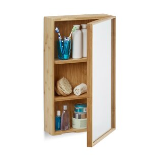 Eveloe 35 X 61cm Mirrored Wall Mounted Cabinet By 17 Stories