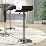 Allegro Adjustable Height Swivel Bar Stool by Wade Logan®