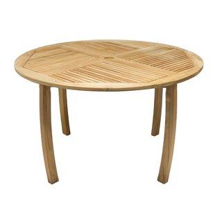 Lambeth Teak Dining Table by Millwood Pines Amazing