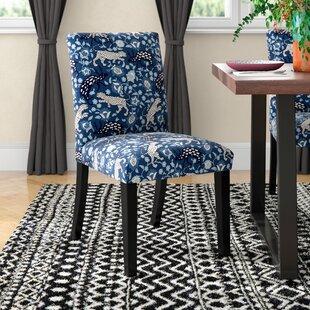 Mistana Abril Leopard Parsons Chair