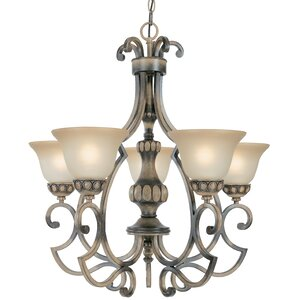 Westchester 5-Light Shaded Chandelier