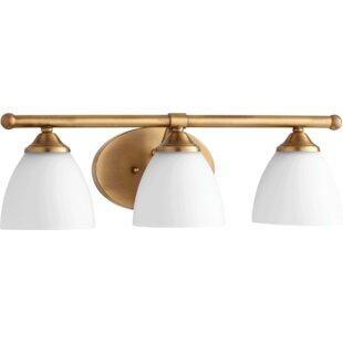 Best Hewlett 3-Light Vanity Light ByThree Posts