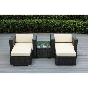 Wade Logan Baril 5 Piece Conservation Set with Cushions