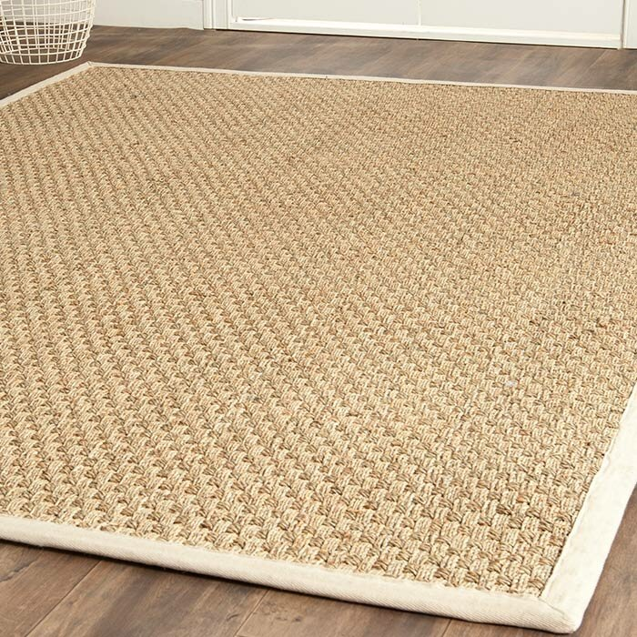 Area Rugs alcott hill catherine hand-woven natural area rug & reviews | wayfair