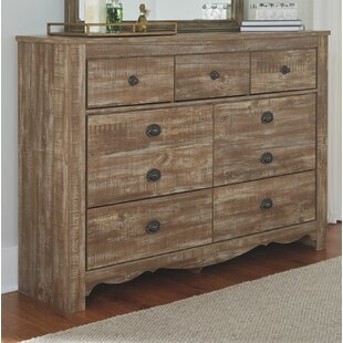 Damstetter 7 Drawer Dresser