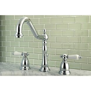 Kingston Brass Bel Air Widespread Bathroom Faucet with Drain Assembly
