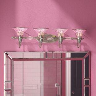 Willa Arlo Interiors Edouard 4-Light Vanity Light