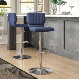 Reviews Hadnot Adjustable Height Swivel Bar Stool (Set of 2) by Brayden Studio Reviews (2019) & Buyer's Guide