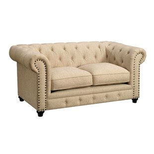 Flounder Chesterfield Loveseat by Darby H..