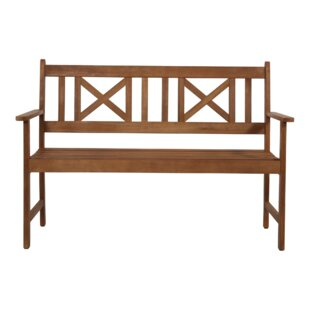 Vancouver Wooden Bench By Lesli Living