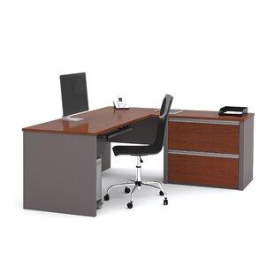 Latitude Run Karla L-Shape Desk Office Suite