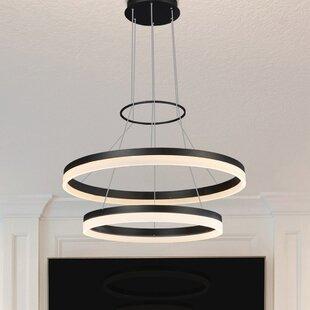 Wade Logan Marcelo Dup 2-Light LED Chandelier