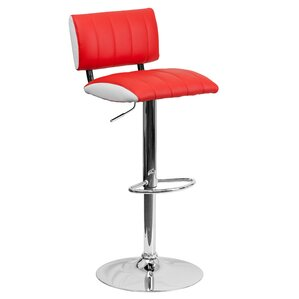 Andrew Adjustable Height Swivel Bar Stool..