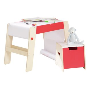 Children's 2 Piece Arts And Crafts Table And Chair Set By Roba