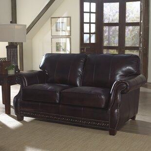 Anna Leather Loveseat by Lazzaro Leather Great Reviews