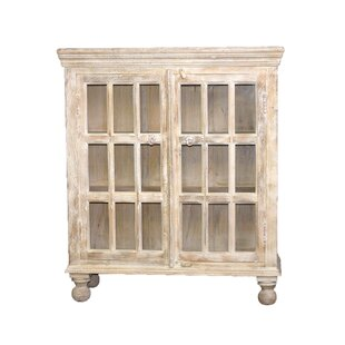 William Sheppee Portsmouth Hutch 2 Door Accent Cabinet