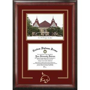 NCAA Spirit Graduate Diploma Picture Frame