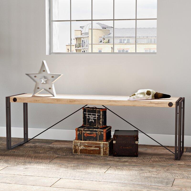 loftdesigns k chenbank burgess aus holz bewertungen. Black Bedroom Furniture Sets. Home Design Ideas
