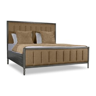Faisan Vertical Channel Tufting Upholstered Panel Bed