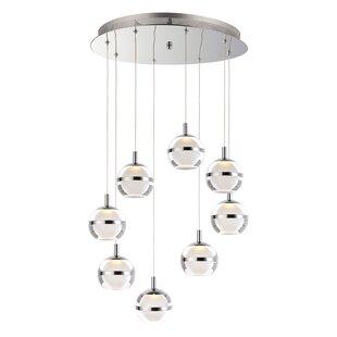 Senters 8-Light LED Pendant by Orren Ellis