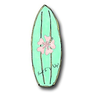 Handpainted Surfboard Novelty Knob