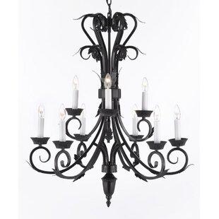 Astoria Grand Locascio 9-Light Chandelier