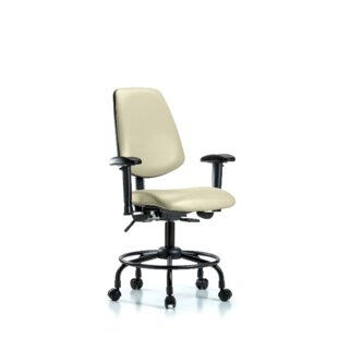 Great choice Amira Round Tube Base Desk Height Office Chair by Symple Stuff