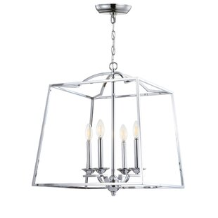 Price Check Hartlepool 4-Light Lantern Pendant By Charlton Home