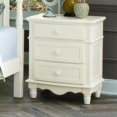 Andre 3 Drawer Nightstand