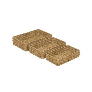 3-tlg. Korb-Set Seagrass von House Additions