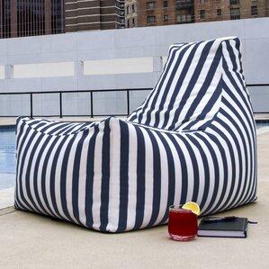 Juniper Outdoor Striped Bean Bag Lounger Part 90
