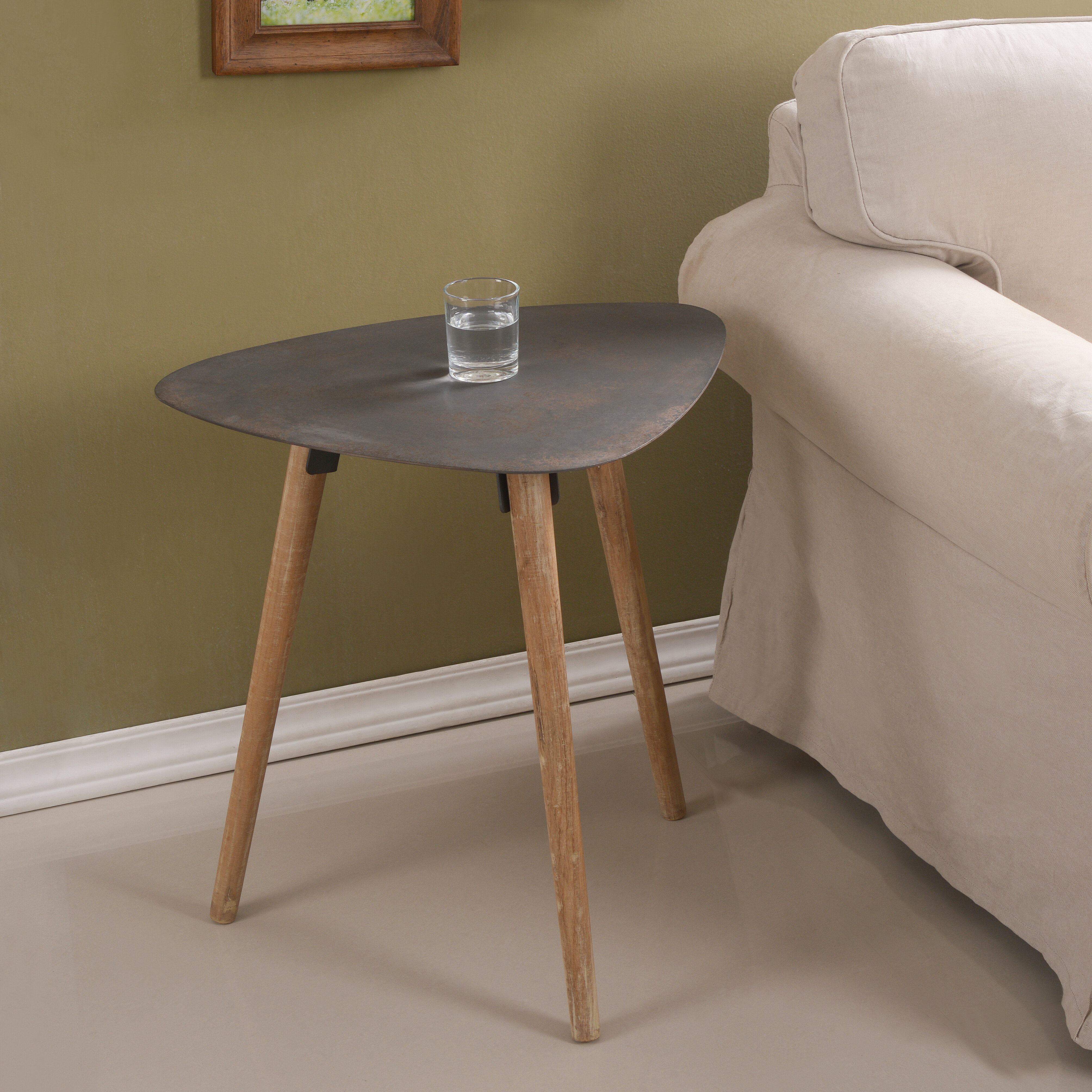 Corrigan Studio 3 Legs End Table Wayfair
