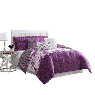 Reade 7 Piece Reversible Comforter Set