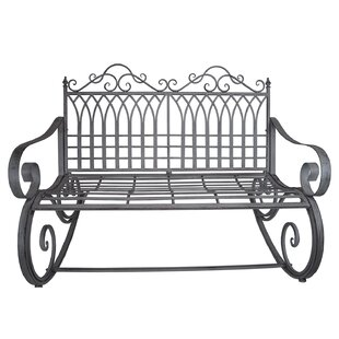 Cassiopeia Ornate Traditional Outdoor Garden Rocking Bench