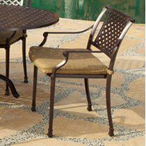 Art Frame Direct Sierre Patio Dining Chair with Cushion