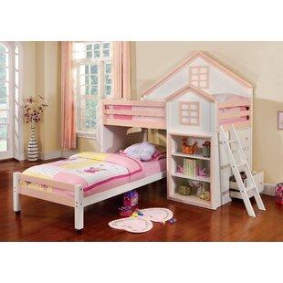 Hokku Designs Stewart House Twin Loft Bunk Bed