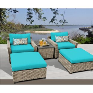 Monterey 5 Piece Conversation Set with Cushions