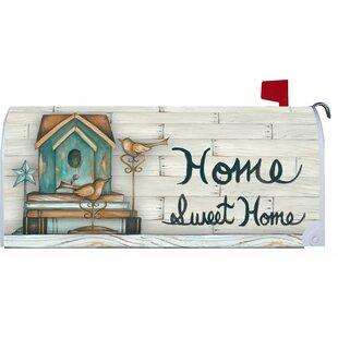 Makeover Home Sweet Home Mailbox Cover By Custom Decor