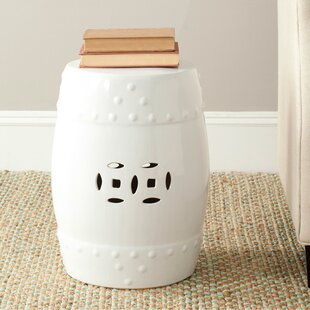 Great choice Gagnon Glazed Ceramic Garden Stool By Charlton Home