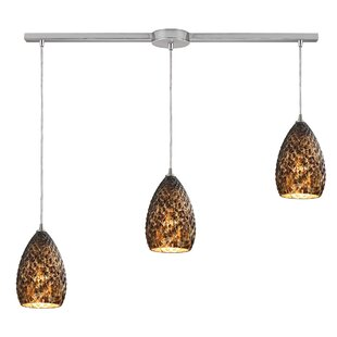 Apollina 3-Light Cluster Pendant by Bloomsbury Market