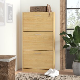 18 Pair Shoe Storage Cabinet By Symple Stuff